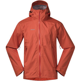 Bergans Letto Jacket Men Lava/Br Magma